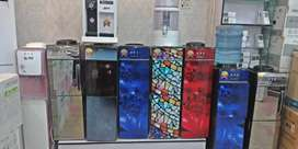 Water Dispenser Glass Door Hot and cold with refrigerator