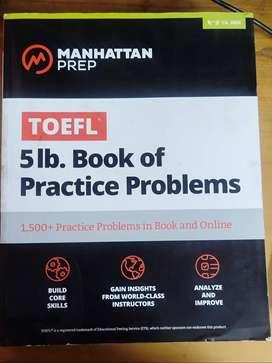 Manhattan TOEFL 5LB of pratice problem
