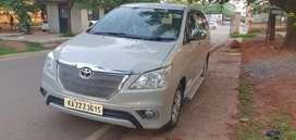 Toyota Innova 2.5 E 7 STR, 2014, Diesel