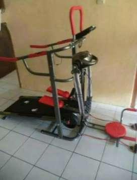Treadmill  manual multy function