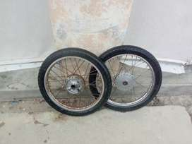 70ccBike tyre for sell