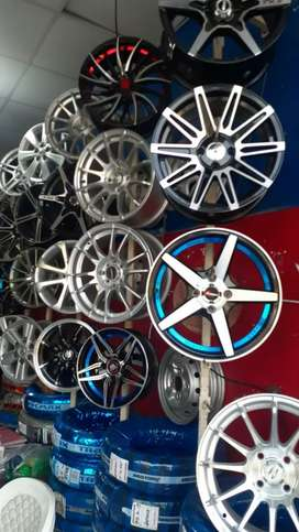All Car's Ally Rims And Tyers Available