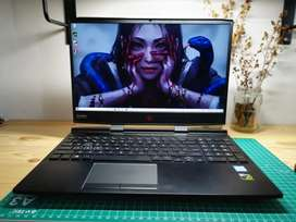 Leptop HP Gaming Omen 15-dc0xxx i7-8750 Nvidia GTX 1050Ti 4Gb Ram 16gb