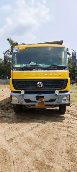 Bharath Benz BS4 12 WHEEL TIPPER FOR SALE AT EXCELLENT CONDITION