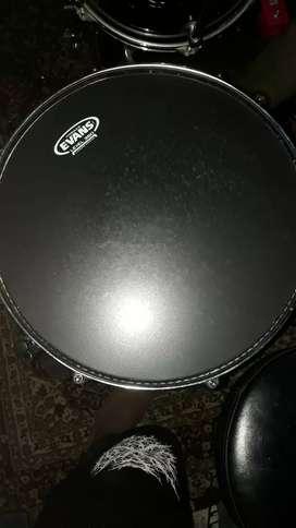 Snare drum mapex mpx steel hammered + evans atas bawah