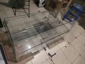 Aquarium 100 x 30 x 30cm Murah