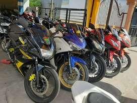 Rafael motor Teluk Dalam ada Kawasaki Ninja 250 cc cash dan kredit