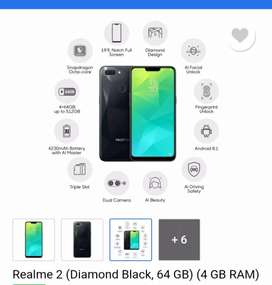 Realme 2 (4gb/64gb) sell / exchange ( realme / redmi )
