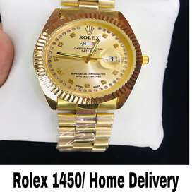 Rolex Day Date Beautiful Watch Home Delivery