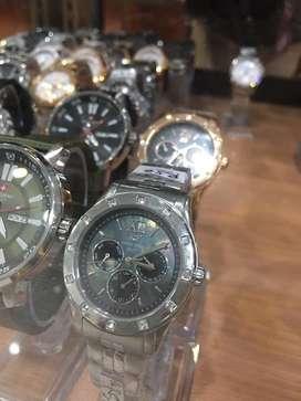 Jam tangan swiss dhc+ women chrono mewah langka