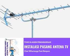 Pusat Agen Pasang Baru Antena Tv Alumunium Antenna Flat