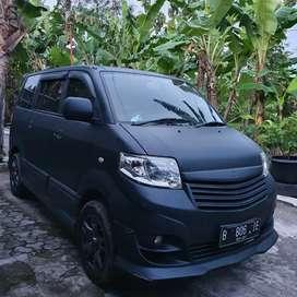 Suzuki APV sgx luxury metik asli hitam dop mbl antiq km 65rb