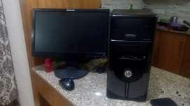 Core PC under warranty 4gb ram, LED HD screen
