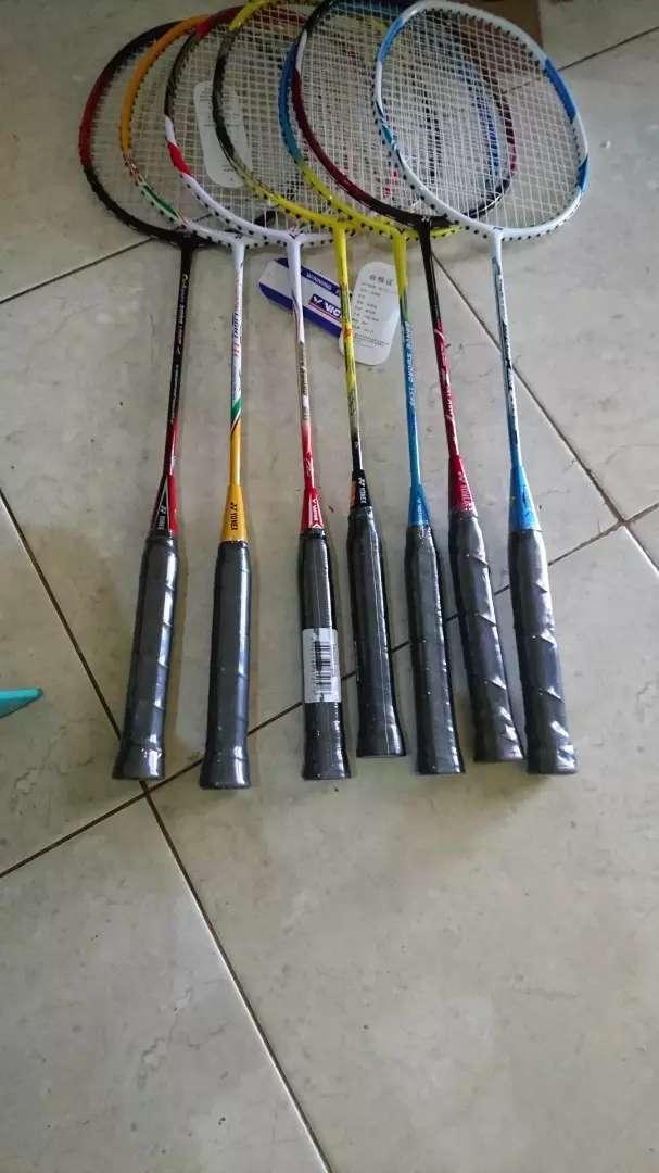 Olahraga dirumah happy sport family bulutangkis badminton raket pbsi 0
