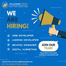 Web, Android Developer and Graphic Designers