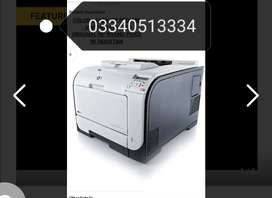 Hp colour  laser jet pro 400 with wifi