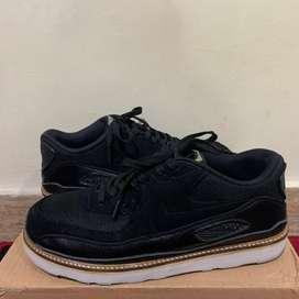 Sepatu Nike air max 90 black hologram custom boots sole eva