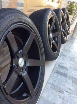 Special 17size rims and tyres for sale