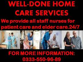 WELL-DONE HOME CARE SERVICES