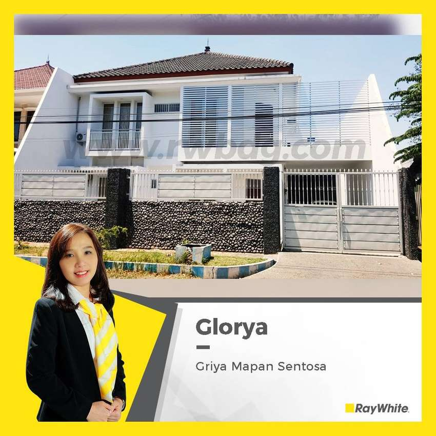 Rumah & Gudang 2 Lantai, Investasi terbaik di Waru Griya Mapan Sentosa 0