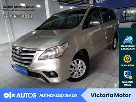 [OLX Autos] Toyota Innova 2014 2.0 E AT Automatic Silver