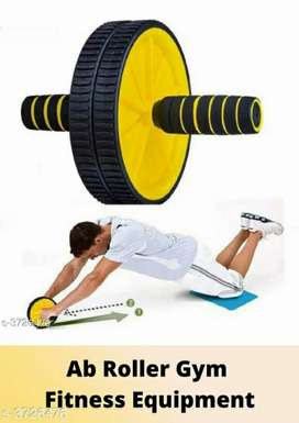 Liboni Double Wheel Ab Roller Gym For Exercise
