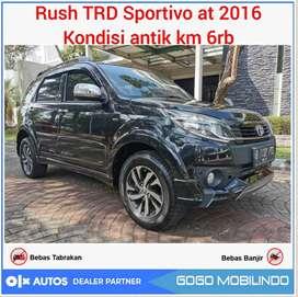 Rush TRD Sportivo AT 2016 Low km 6rb istimewa