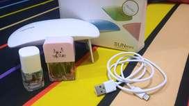 Kutek Kuku Nail Set Msglow nail polish clear With Nail Lamp