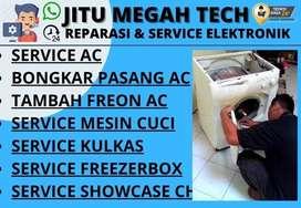 Service AC Tidak dingin Servis Mesin cuci Kulkas Benowo Surabaya