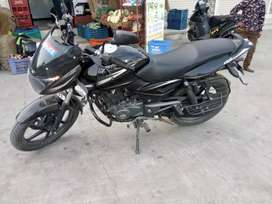 Pulsar 150 blue colour and black