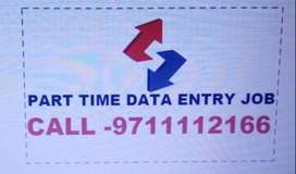 HOME BASED DATA ENTRY JOB PART TIME WORK JOIN 9711'1121'66 APPLY