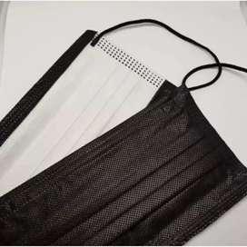 Masker Earloop warna hitam