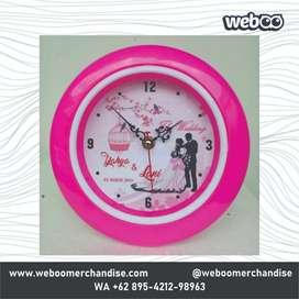 Jam Dinding Custom Foto - Bikin beda dari yang lain