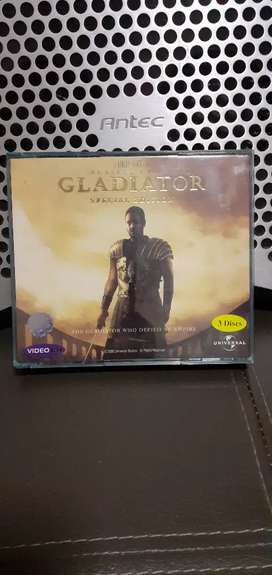 """VCD Origanal """" GLADIATOR """" Special Edition 3 Disc"""