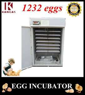1232 Eggs HHD Commercial Fully Automatic Incubator Digital Machine