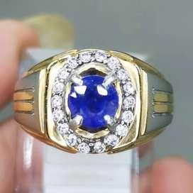 Batu Blue Safir Ceylon Srilangka Asli