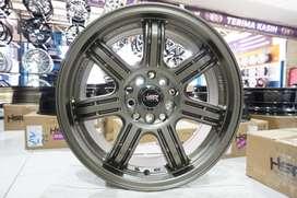 Velg Racing Ring 16x7 HSR SIAK Buat Mobil Familia, Lantis, mazda2, dll