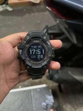 Jual cepat gshock gbd h1000 smartwatch warna hitam lengkap
