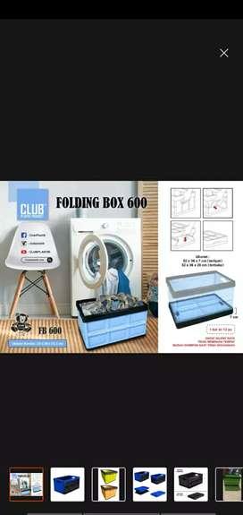 Keranjang Lipat/ Box Container Lipat Portable Serbaguna 2678