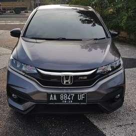 Honda jazz Rs 2018 manual asli AA km 20rb