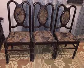 Wood chair for sale(1 chair price)