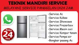 Service Ac, Kulkas, Mesin cuci, Kompor tanam - Bongkar pasang Ac