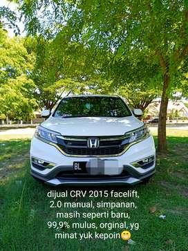 HONDA CRV 2.0 2015 facelift manual super