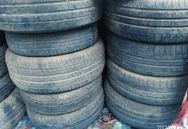 Tyres good condition size R15   .R17 Swift BMW Jaguar Honda City