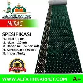 Menjual karpet masjid import turki tebal dan halus