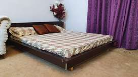 Double Queen size bed  with mattress