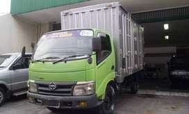 Hino Dutro 110SDL Box Long Chassis Engkel 2010 TT Dumptruck, L300