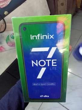 Infinix Note 7 lite 4/128GB Resmi Bisa Kredit atau Tukar tambah