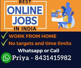 Earn weekly Rs.10,000/- with data entry job. Work from home