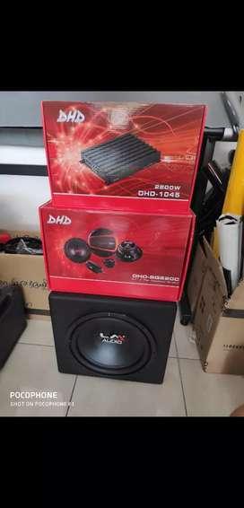 Paket hemat audio mix dhd LM vintage sdh termasuk pasang
